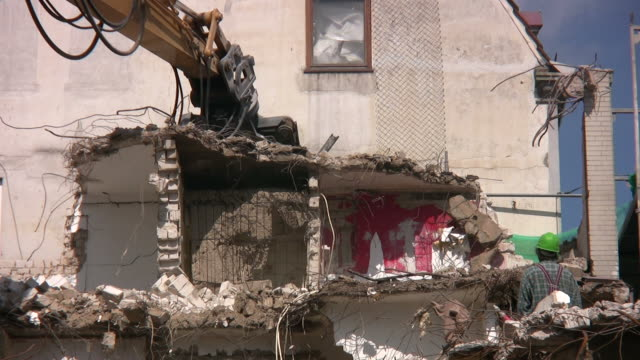 Demolition of residential building