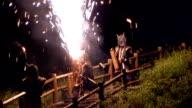 HD: Demons fire show (video)
