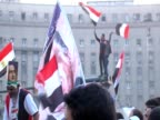 Demonstration in Egypt marking the second anniversary of the uprising January 2013