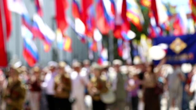 Dimostrazione con bandiere