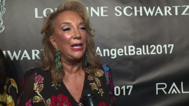 INTERVIEW Denise Rich talks about how the Angel Ball should celebrate life at Angel Ball 2017 at Cipriani Wall Street on October 23 2017 in New York...