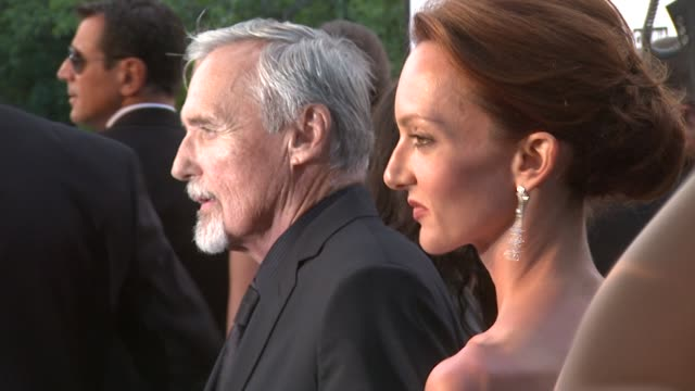 Dennis Hopper at the Cannes amfAR's Cinema Against AIDS 2008 arrivals in Cannes on May 22 2008
