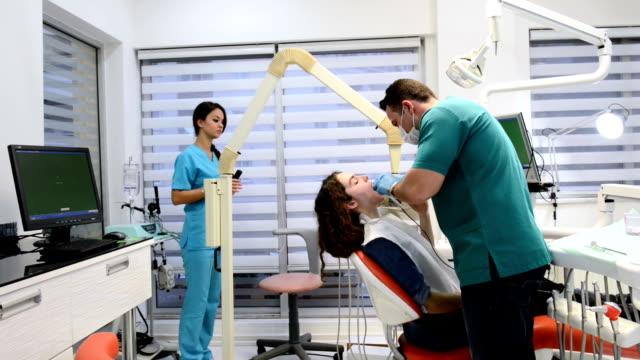 Dental x-ray process