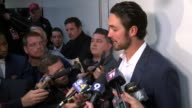 Denver Broncos backup quarterback Osweiler press conference after loss to Kansas City Chiefs Peyton Manning set the NFL record for career passing...