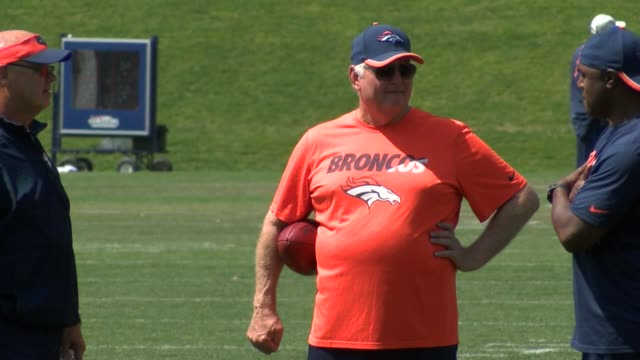 Denver Broncos defensive coordinator Wade Phillips is coaching in Denver again with another former Broncos coach Gary Kubiak Footage off Phillips at...