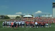 Denver Broncos fans routinely pack the practice facility for training camp practices getting autographs and cheering on the team during the early...