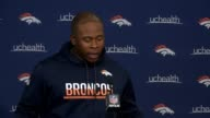Denver Broncos head coach Vance Joseph spoke about the NFL national anthem protests including 32 members of his team that chose to kneel Sunday at...