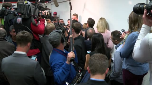 Denver Broncos quarterback Peyton Manning didn't go to the podium for a press conference after he was pulled from the loss to Kansas City Chiefs...