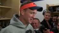 Denver Broncos quarterback Peyton Manning talks about foot injury that kept him out of practice and the upcoming game against the Kansas City Chiefs...