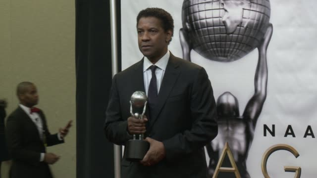 Denzel Washington at 48th NAACP Image Awards at Pasadena Civic Auditorium on February 11 2017 in Pasadena California