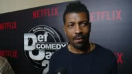 INTERVIEW Deon Cole on how Def Comedy Jam influenced his career impact on comedy why people love it why he is here tonight at Netflix Presents 'Def...