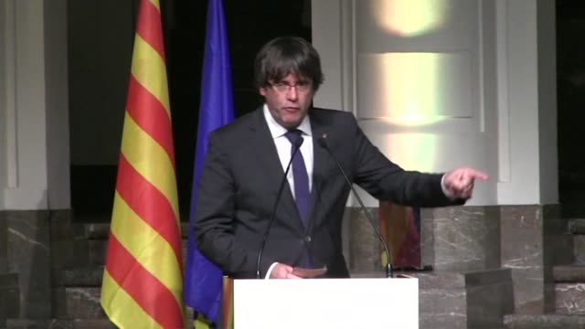 Deposed Catalan leader Carles Puigdemont has implicitly accused the European Union of being complicit through his silence in the coup d' etat...