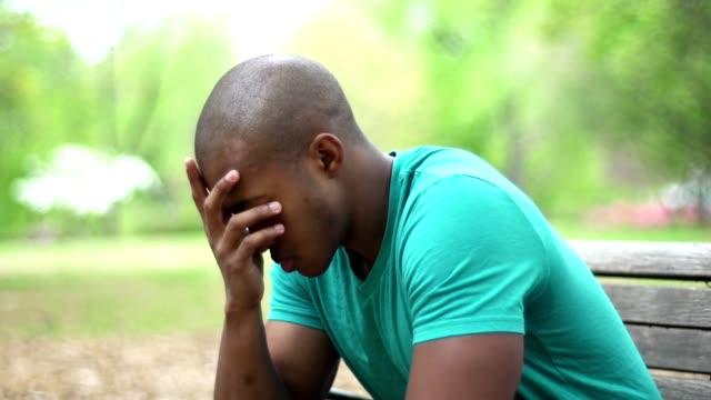 Depress Young Man
