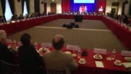 Deputy Prime Minister of Turkey Mehmet Simsek speaks to the US Chamber of Commerce in Washington on April 20 2017 urkey needs to find ways for its...