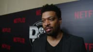 INTERVIEW Deray Davis on how Def Comedy Jam influenced his career impact on comedy why people love it why he is here tonight at Netflix Presents 'Def...