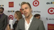 INTERVIEW Derek Hough on what it means to be receiving an honor from GLSEN why bullying is an issue we need to fight and what respect means to him at...