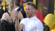 Derek Hough outside the IT Premiere at TCL Chinese Theatre in Hollywood in Celebrity Sightings in Los Angeles