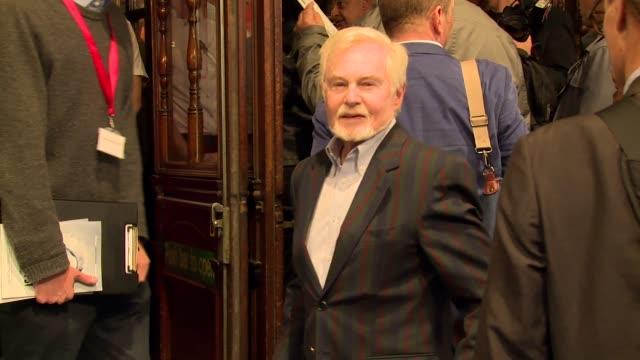 BROLL Derek Jacobi Andrew Scott Kathleen Williams David Williams at Noel Coward Theatre on September 14 2015 in London England