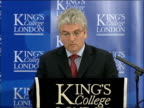 Des Browne speech on nuclear weapons at King's College I believe we have made the legal position very clear / Maintaining our nuclear deterrent is...