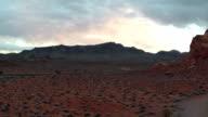 Wüste fliegen durch