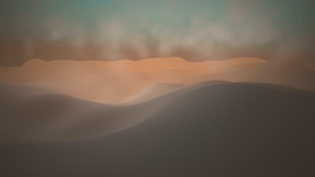 Dune di sabbia del deserto