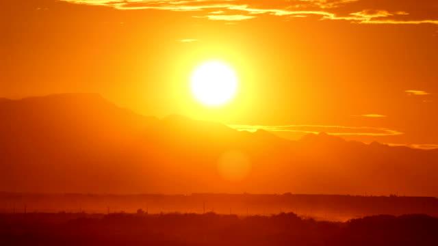 Desert Sunset Time Lapse