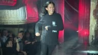 Designer Alexander Wang walks the runway at Alexander Wang February 2017 New York Fashion Week at TBD on February 11 2017 in New York City