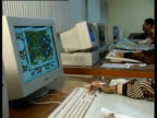 Designers create carpet patterns on computers