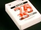 T/L desk calendar - 1st January to 31st December 2001