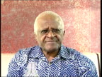 interview on Zimbabwe Archbishop Desmond Tutu 2WAY interview SOT On situation in Zimbabwe humanitarian crisis the need for help Africans must hold...