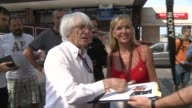 Despite facing a bribery trial and a possible prison sentence in Germany Bernie Ecclestone is in Budapest for this weeekends Hungarian Grand Prix...