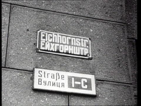 Destroyed city and church in ruins after World War II bombing/ Kiev/ Ukraine/ AUDIO