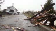 Zerstörter Häuser