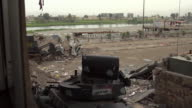 Destruction and rubble in Mosul