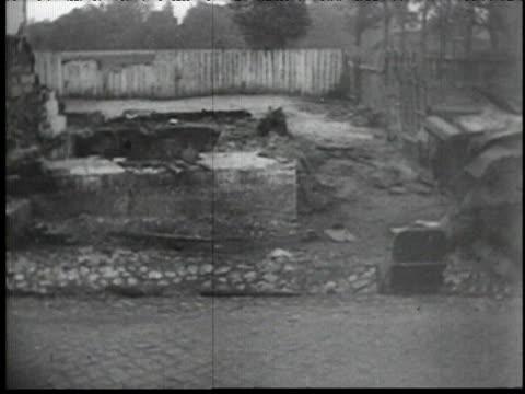 destruction in Poland