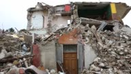Destruction in the village of Amatrice Nearly 300 people died in the quake of August 24 2016 and hundreds more were injured