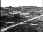Destruction of Hiroshima after atomic bomb was dropped / Japan