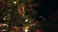 Detail eines Christmas tree