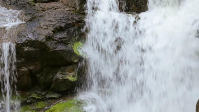 ECU PAN Detail of Hoopii Falls / Kapaa, Kauai, Hawaii, United States