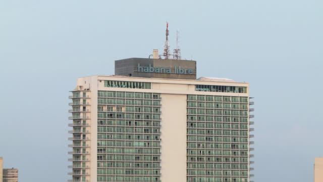 CU ZO WS Detail of Hotel Tryp Habana Libre / Havana, Cuba