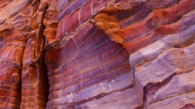Detail of stone in Petra