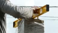 Detail des Arbeitnehmers darauf vorbereiten, Schweißen Stahl Bogen