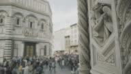 Details of Duomo Santa Maria del Fiore in Florence