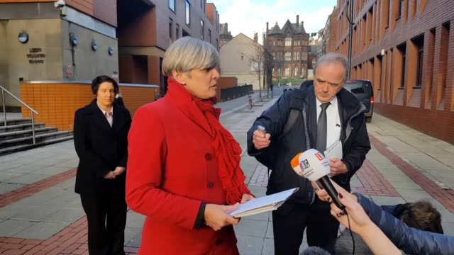 Detective Chief Inspector Andrea Kell speaks outside court with a statement from North Yorkshire Police and a statement from the Rough family The...