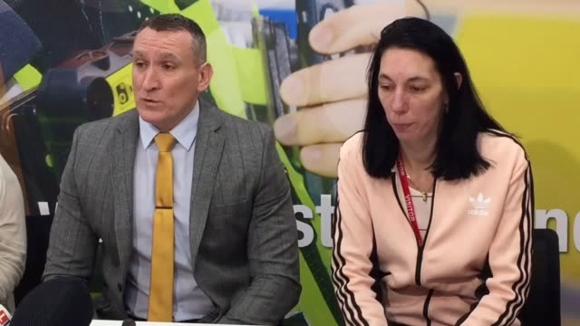 Detective Inspector Paul Joyce and Fiona Nicholls the daughter of murder victim Anthony Nicholls make an appeal for information at West Midlands...