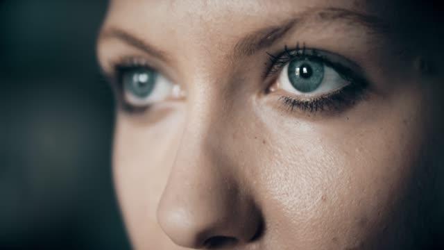Determination in eyes