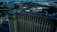 Detroit Train Station Reveal Shot