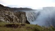 Dettifoss waterfall in Vatnajökull National Park in Iceland