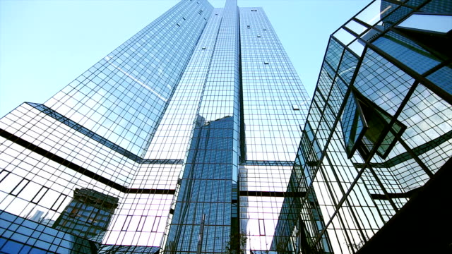 Deutsche Bank Building In Frankfurt Tilt Up
