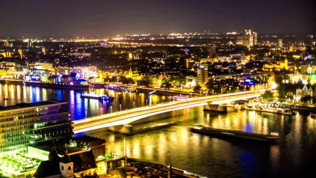 Den Deutzer Brücke in Köln